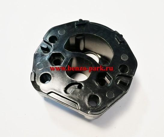 Адаптер (проставка, теплоизолятор) карбюратора бензопил Husqvarna 236, Husqvarna 240