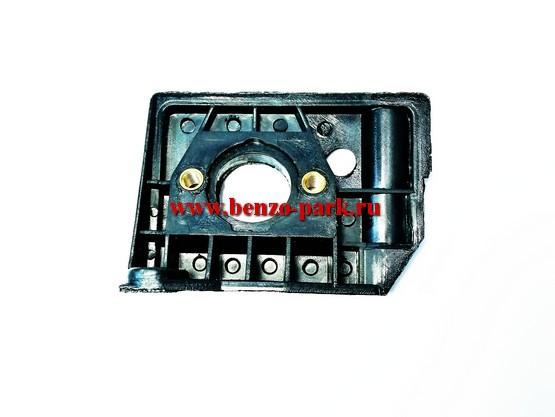 Адаптер (проставка, теплоизолятор) карбюратора китайских бензопил с объемом двигателя 45см3, 52см3, 58см3