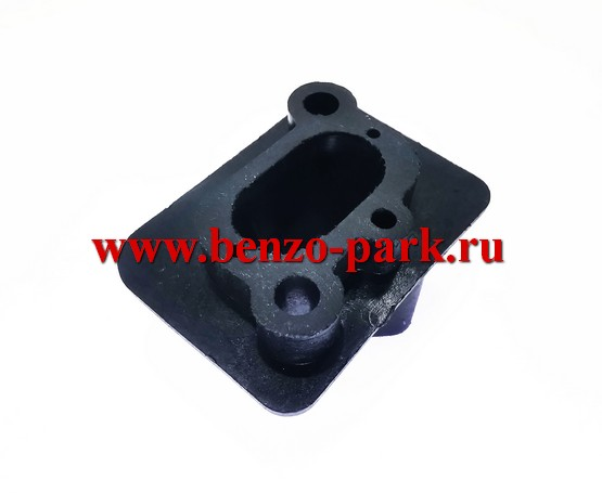 Адаптер (проставка, теплоизолятор, тепловая дамба) карбюратора для китайских бензокос с объемом двигателя 43см3, 52 см3, 56 см3, 62 см3