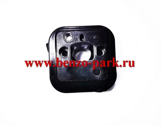 Адаптер (теплоизолятор, проставка) карбюратора бензопил типа Sturm 42CC, Champion 242, Maxcut 242, Rebir 42CC и т.п