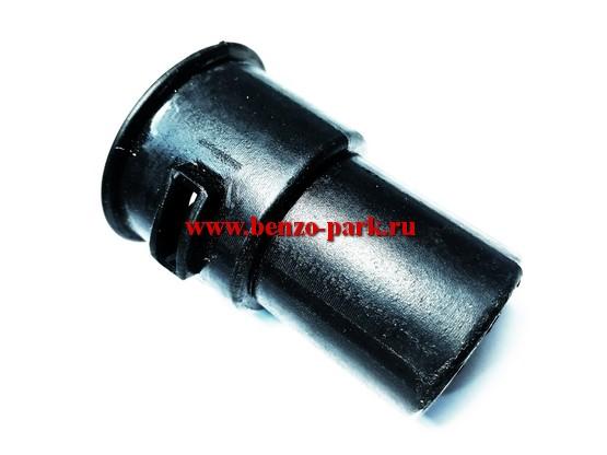 Амортизатор штанги (уплотнитель) бензокос с объемом двигателя 26-52 см3, под штангу диаметром 26мм (тонкий, под высокую корзину)