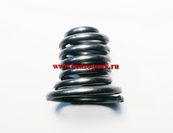Амортизационная пружина конусная для китайских бензопил с объемом двигателя 45см3, 52см3 и 58 см3