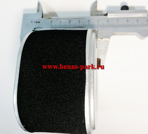Воздушный фильтр (элемент) четырехтактных двигателей типа Lifan 168F, 168F-2, 170F (5,5 л.с., 6,5 л.с., 7,0 л.с.)
