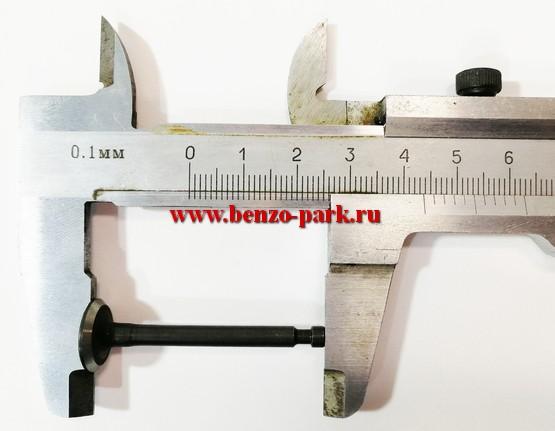 Впускной клапан для китайских четырехтактных бензокос типа Carver GBC 31F