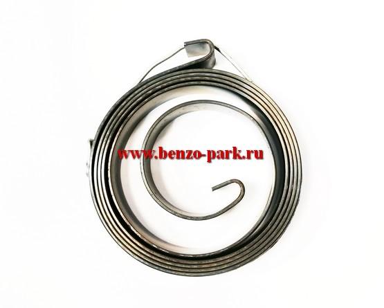 Вспомогательная пружина (пружина плавного запуска) эрго стартера бензопил и бензокос (Широкая, 10 мм)