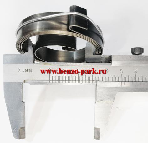 Вспомогательная пружина (пружина плавного запуска) эрго стартера бензопил и бензокос (Широкая, 12 мм)