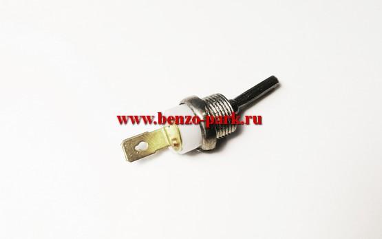 Выключатель зажигания (металлический тумблер) бензопил с объемом двигателя 45см3, 52см3, 58 см3, типа Piran, Цыганка, Байкал и др.