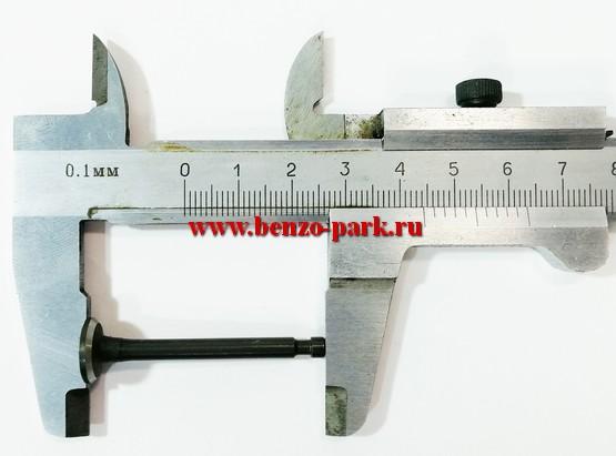 Выпускной клапан для китайских четырехтактных бензокос типа Carver GBC 31F