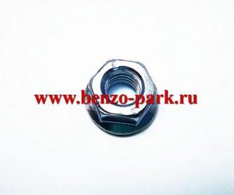 Гайка крепления маховика китайских бензокос с объемом двигателя 33, 43 и 52 см3 (двигатель 36F, 40F, 44F)