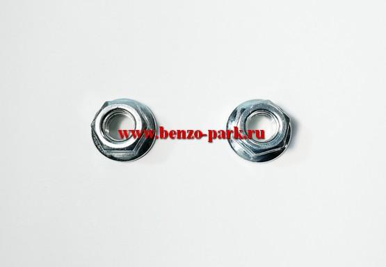 Гайки крепления шины китайских бензопил с объемом двигателя 38см3, 41 см3, 45 см3, 52 см3 и др. (пара)