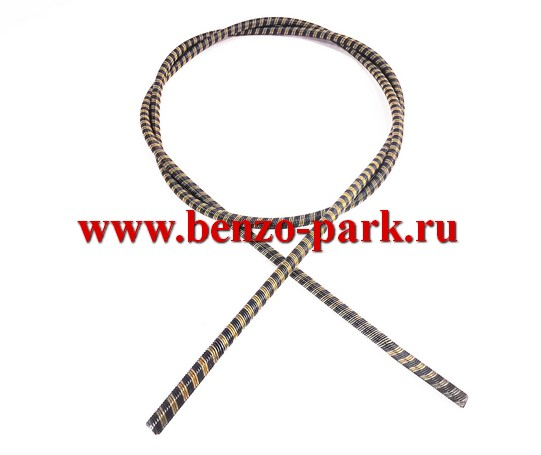 Гибкий вал (трос привода) для бензокос и электротриммеров, длина 125 мм, диаметр 6 мм, наконечники квадрат 5х5 мм