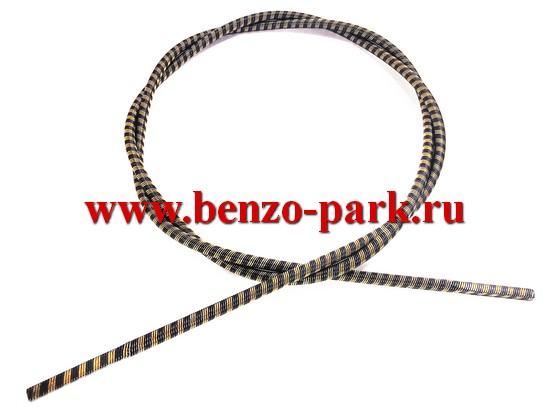 Гибкий вал (трос привода) для бензокос и электротриммеров, длина 135 мм, диаметр 6 мм, наконечники квадрат 5х5 мм