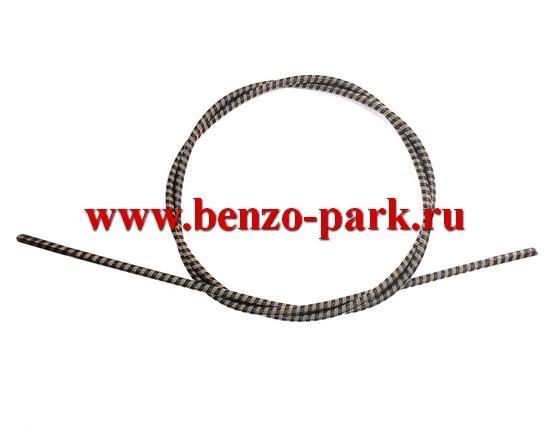 Гибкий вал (трос привода) для бензокос и электротриммеров, длина 152 мм, диаметр 6 мм, наконечники квадрат 5х5 мм