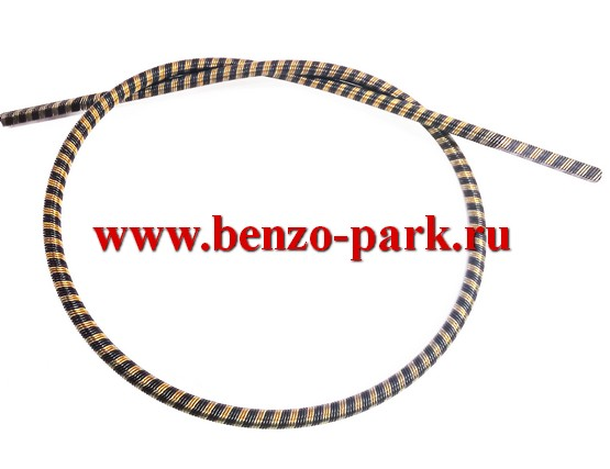 Гибкий вал (трос привода) для бензокос и электротриммеров, длина 71 мм, диаметр 6 мм, наконечники квадрат 5х5 мм