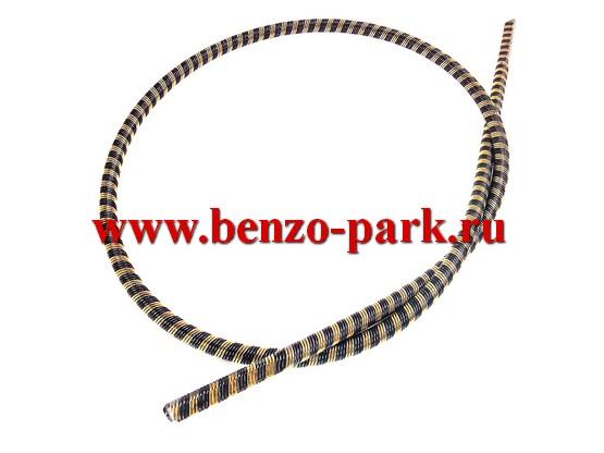 Гибкий вал (трос привода) для бензокос и электротриммеров, длина 75 мм, диаметр 6 мм, наконечники квадрат 5х5 мм