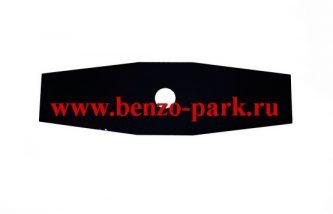 Диск (нож) двухлопастной, размер 305х25,4х1,4 2T, для бензокос и электротримеров