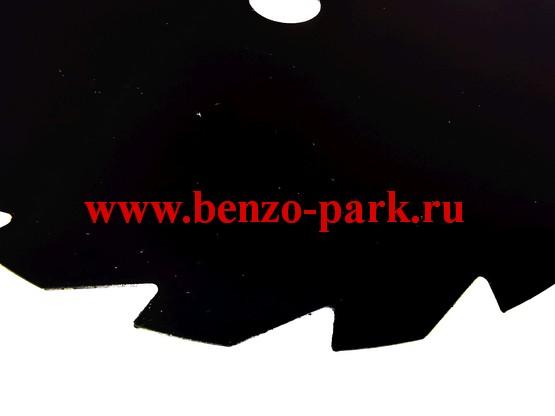 Диск (нож) 19 зубьев, размер 255х25,4х1,4 19T, для бензокос и электротримеров