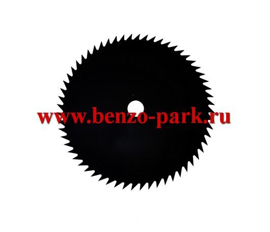 Диск (нож) 60 зубьев, размер 255х25,4х1,4 60T, для бензокос и электротримеров