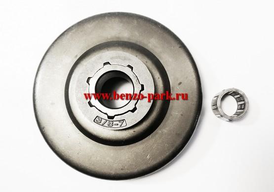 Звездочка ведущая со сменным венцом и сепаратором для бензопил типа Husqvarna 371, Husqvarna 365, Husqvarna 362, Husqvarna 372, Husqvarna 385 и др.