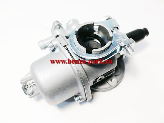 Карбюратор для бензиновых ранцевых опрыскивателей типа OB14, OB16, а так же для бензокос с верхним баком, типа Калибр, Спецмаш, Темп и т.д.