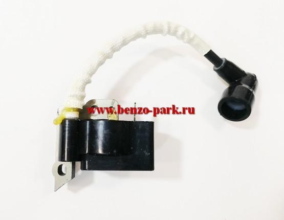 Катушка зажигания в сборе для бензокос с объемом двигателя 25см3 и 30см3