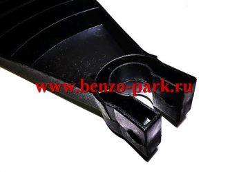 Кожух защитный бензокос и электротриммеров под гнутую штангу диаметром 26 мм