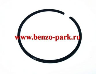 Кольца поршневые компрессионные для китайских бензопил с объемом двигателя 58 см3 (d 45,2 мм)