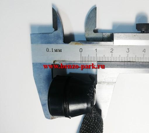 Комплект амортизаторов (кольцевой буфер 3 шт.) для китайских бензопил с объемом двигателя 38 и 41 см3