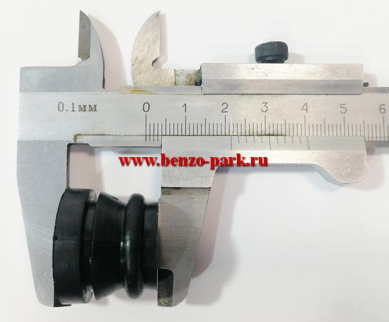 Комплект амортизаторов ( 5 шт. ) китайских бензопил с объемом двигателя 45см3, 52см3, 58 см3