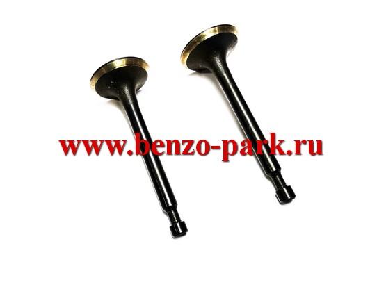 Комплект клапанов для четырехтактных двигателей мощностью 5,5-6,5 л.с, типа Lifan168F, 168F-2