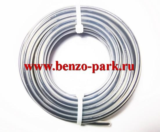 Леска триммерная DUO LINE 4,0 мм х 6 м, сечение круг, с сердечником