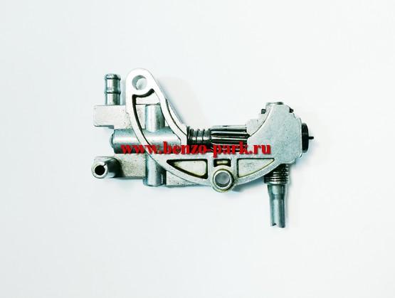 Маслонасос в сборе китайских бензопил с объемом двигателя 45 см3, 52 см3, 58 см3