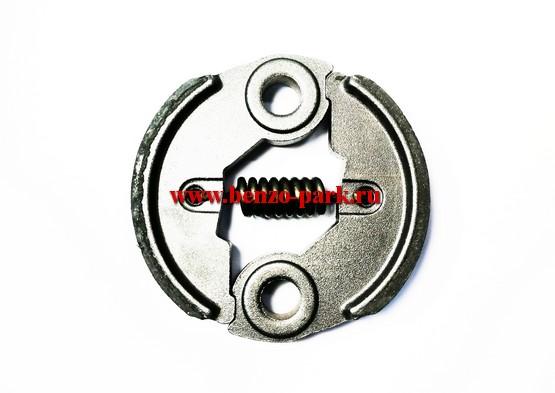 Муфта сцепления китайских бензокос с объемом двигателя 33 см3, 43 см3, 52 см3, 56 см3 (стальные колодки)