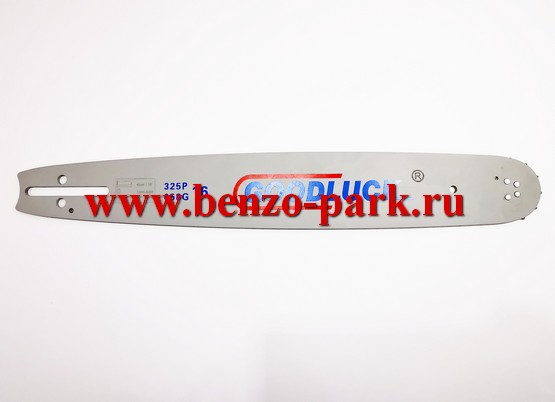Направляющая шина для цепных пил 16 дюймов, под цепь 66 звеньев, шаг 0,325 ширина паза 1,5