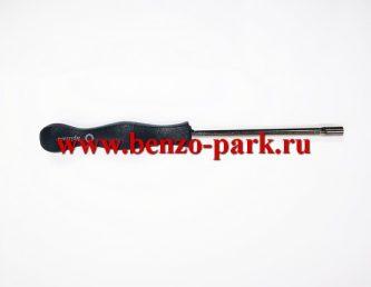 Отвертка для регулировки карбюратора бензопил, круглая, крупные шлицы (профиль Splined 2)
