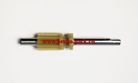 Плунжер (шестерня) маслонасоса бензопил типа Partner 350-371, Poulan 2150 2250 и др.