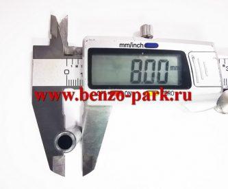 Поршень в сборе бензопил типа Stihl MS 170, d=37мм, диаметр пальца 8 мм