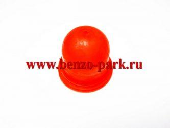 Праймер подкачки топлива (силиконовый купол) для бензокос типа Husqvarna (увеличенный размер)