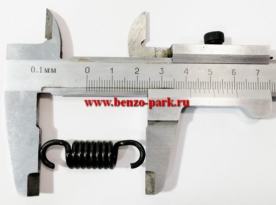 Пружина муфты сцепления бензокос с объемом двигателя 33 см3, 43 см3, 52 см3 и 56 см3 (на стальные колодки)