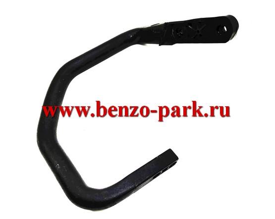 Ручка-держатель (верхняя рукоятка) бензопил типа Poulan 2150, Partner 350 и т.п., для бензопил без амортизаторов («жесткий» корпус)
