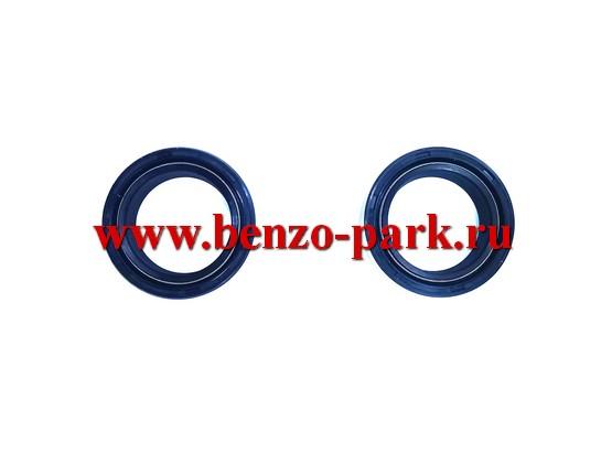 Сальники передней вилки мопедов ALPHA (размер 27х37х10,5) (пара)