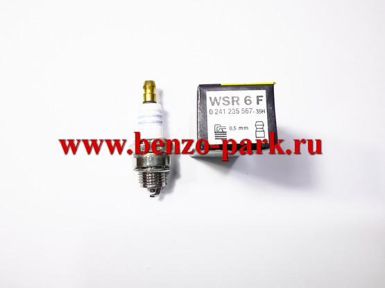 Свеча зажигания WSR6F подходит для большинства импортных бензопил и бензокос