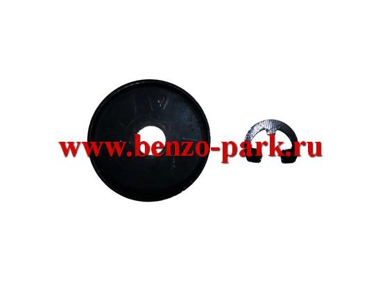 Стопорное кольцо ведущей звездочки в комплекте с шайбой бензопил Homelite 4016, Homelite 4518, Homelite 5218, Ryobi 4040, Ryobi 4545 и т.п.