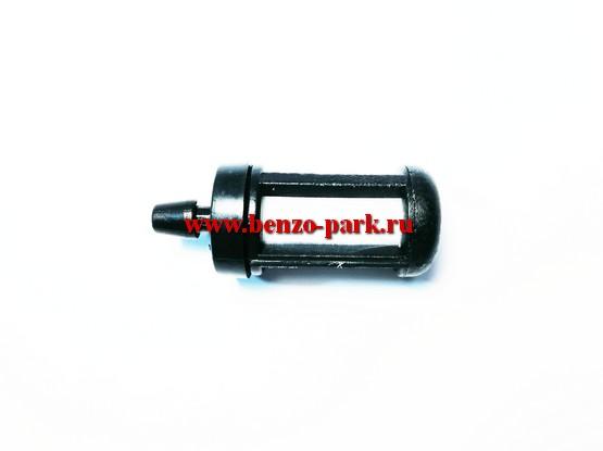 Топливный фильтр для бензопил и бензокос с объемом двигателя 38-52 см3, выход d=6mm  (Средний)