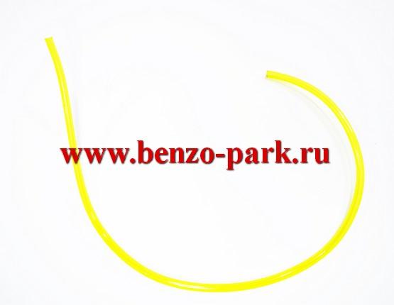 Топливный шланг для бензопил и бензокос (прозрачный, бензомаслостойкий), длина 30 см, внутренний диаметр 2,0 мм, наружный диаметр 3,5 мм