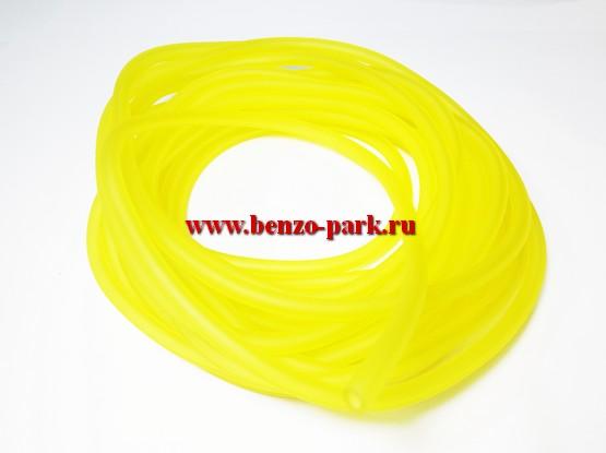 Топливный шланг для бензопил и бензокос (бензомаслостойкий), длина 5 метров, внутренний диаметр 3 мм, наружный диаметр - 5 мм