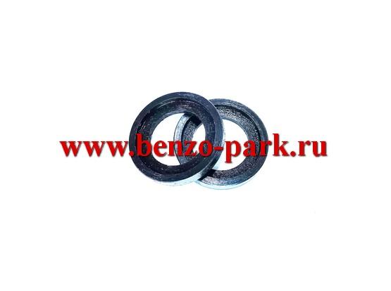 Шайбы сепаратора (игольчатого подшипника) поршневого пальца китайских бензопил с объемом двигателя 45см3, 52см3 и 58см3
