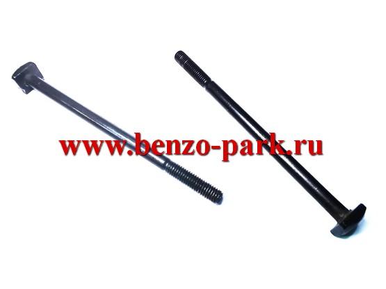 Шпильки крепления глушителя китайских бензопил с объемом двигателя 45 см3, 52 см3 и 58 см3 (пара)