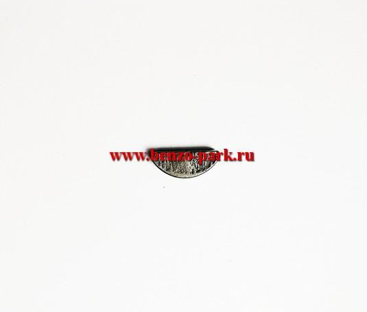 Шпонка коленвала для китайских бензопил с объемом двигателя 38см3, 41см3, 45см3, 52см3 и 58см3