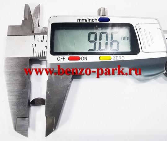 Шпонка коленчатого вала бензопил типа Partner 350-371, Husqvarna 137, 142